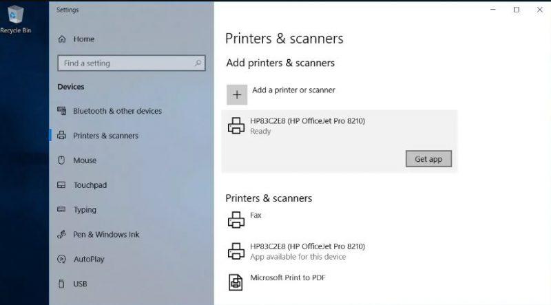 perbarui driver printer