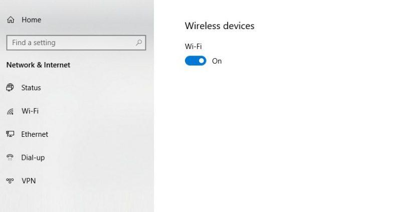 Pengaturan Printer Wireless Laptop