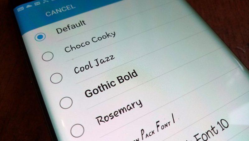 Cara mengubah Tulisan Atau Font Pada HP Android