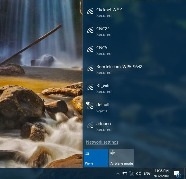 Cara menghubungkan wifi ke laptop tahap 1