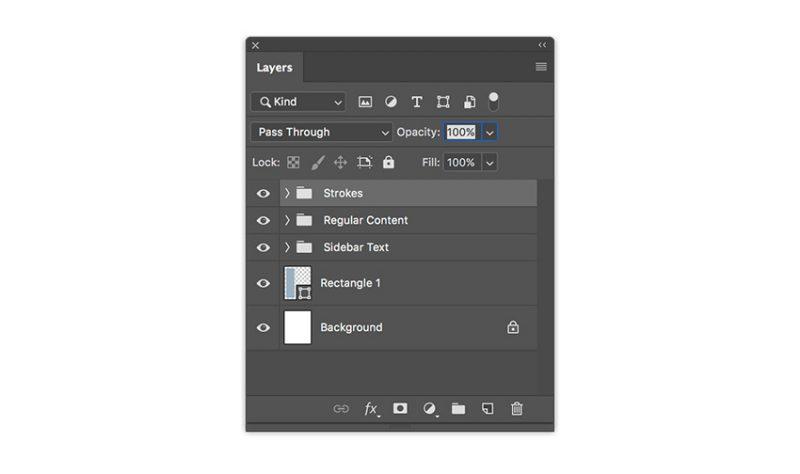 buat folder pada layer