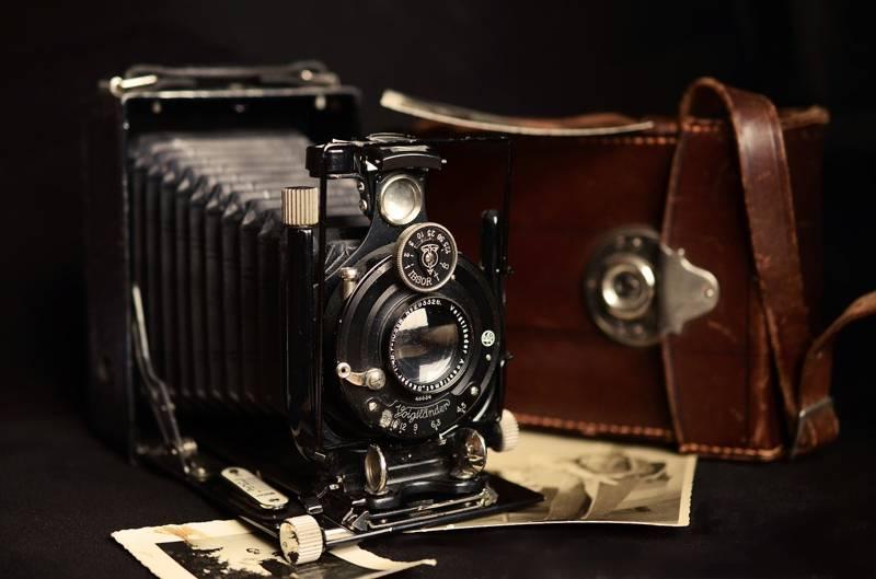 Tampilan Kamera Kuno