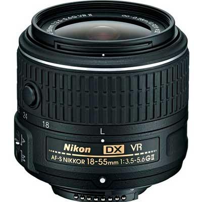 jenis lensa kamera : Kit