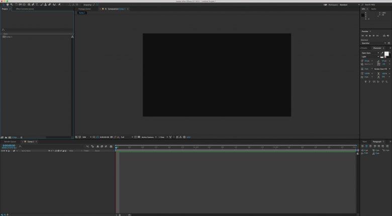 Cara Membuat motion graphic