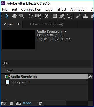Impor file suara Anda