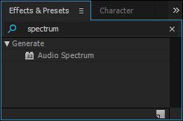 efek spektrum audio