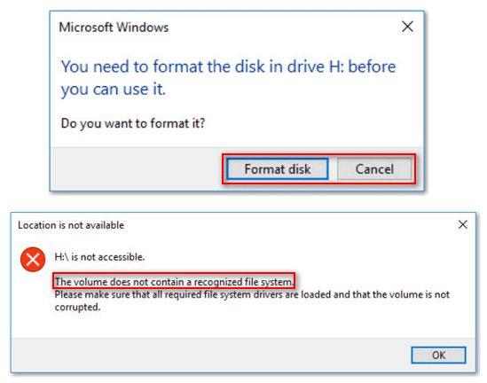 masalah sistem file