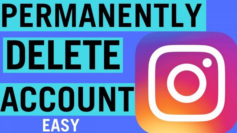 cara hapus instagram