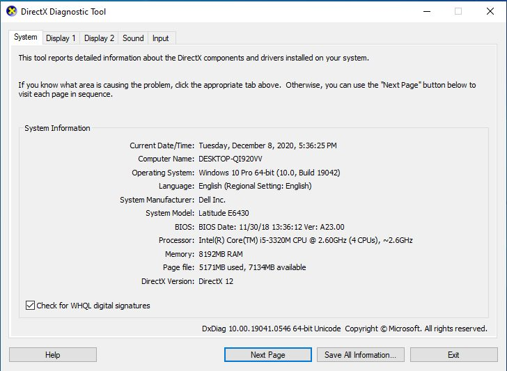 Cara Mengetahui Bit Laptop dengan DXDIAG