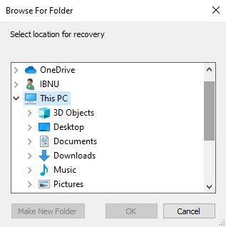 Cara mengembalikan file yang terhapus secara permanen di laptop